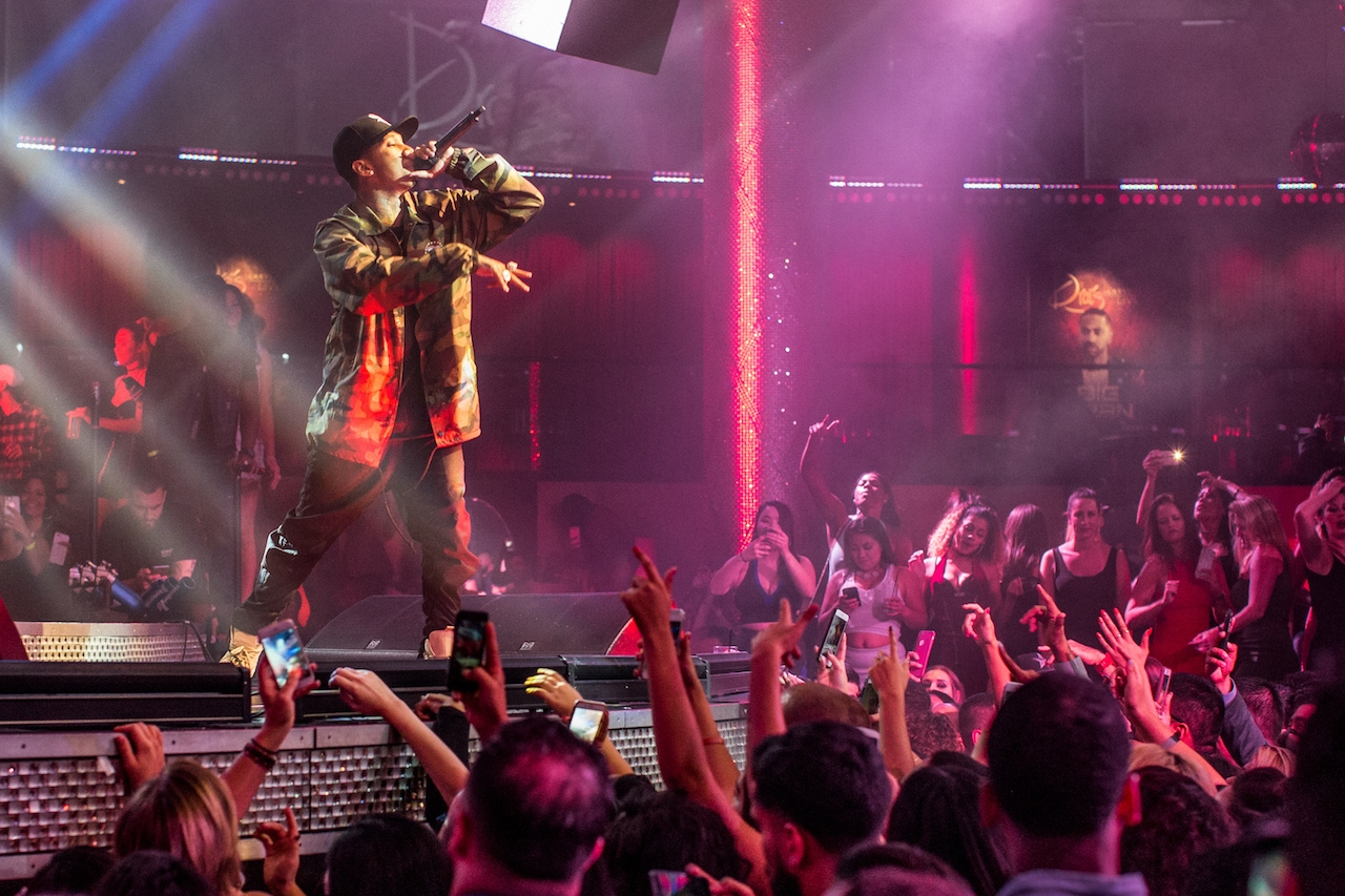Tyga Kicks Off Mexican Independence Day Weekend At Drai S